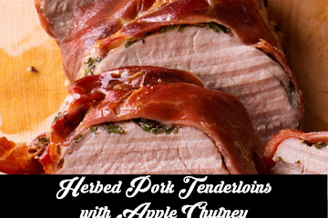 Delicious Herbed Pork Tenderloins with Apple Chutney Recipe