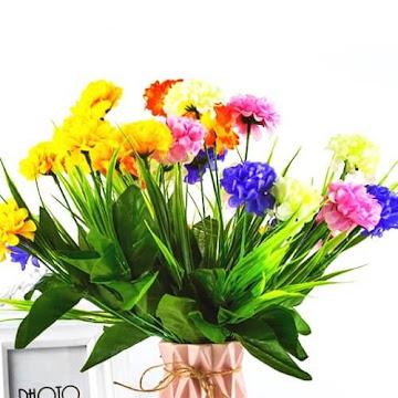 Bunga Plastik / Bunga Artificial Hydrangea (Seri D7)