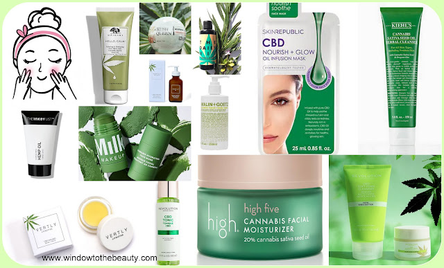 cannabis in the skin care