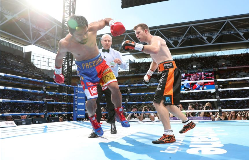 Jeff Horn upsets Manny Pacquiao, wins WBO Welterweight title