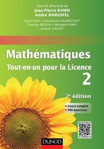 Télécharger Livre Gratuit Mathématiques Tout en un pour la Licence 2 pdf