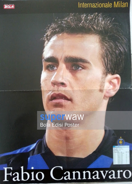 Big Poster Fabio Cannavaro (Inter Milan)