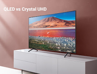 The difference between QLED and Crystal UHD: What you need to know