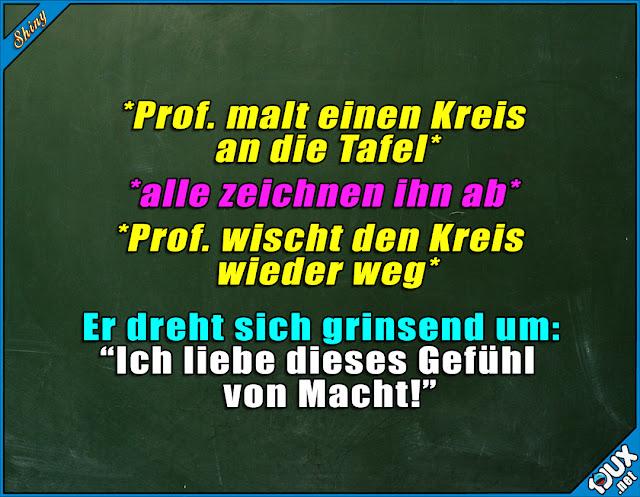 Lustige Spruche Der Prof Hat Seinen Spass