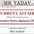 MK Yadav INA Current Affairs pdf Notes for UPSC Prelims & Mains 2020 Exams