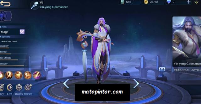 Bocoran Tanggal Rilis Hero Yi di Server ORI - Mobile Legends