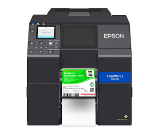 Epson ColorWorks CW-C6000P Driver Download And Review