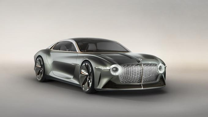 Bentley EXP 100 GT, a luxury coupe for tomorrow