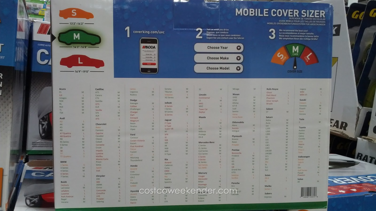 Coverking Moda Coverbond Universal Car Cover Costco