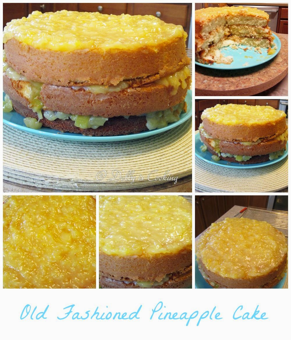 Old Fashioned Pineapple Cake