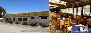 Restaurante Las Salinas Cahuil exterior terraza