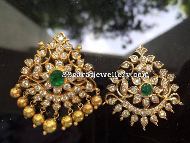 Simple Diamond Pendants For Black beads Chains