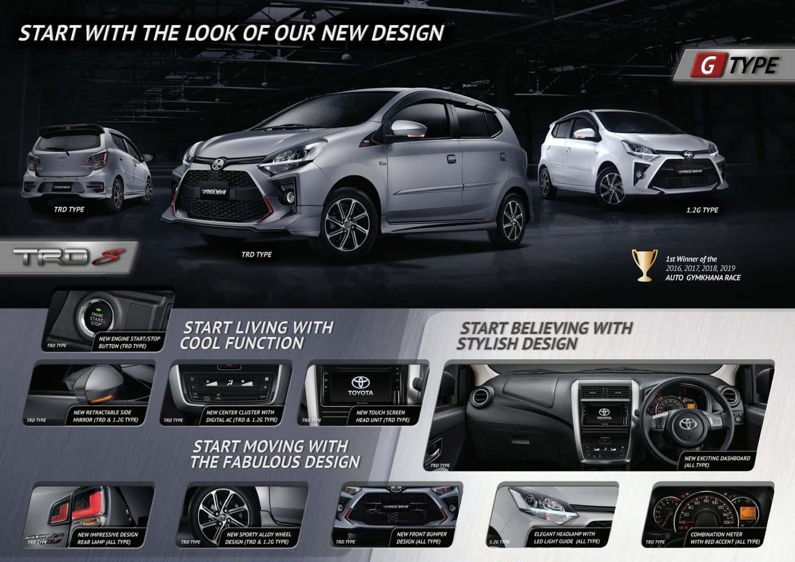 Toyota Agya Pekanbaru