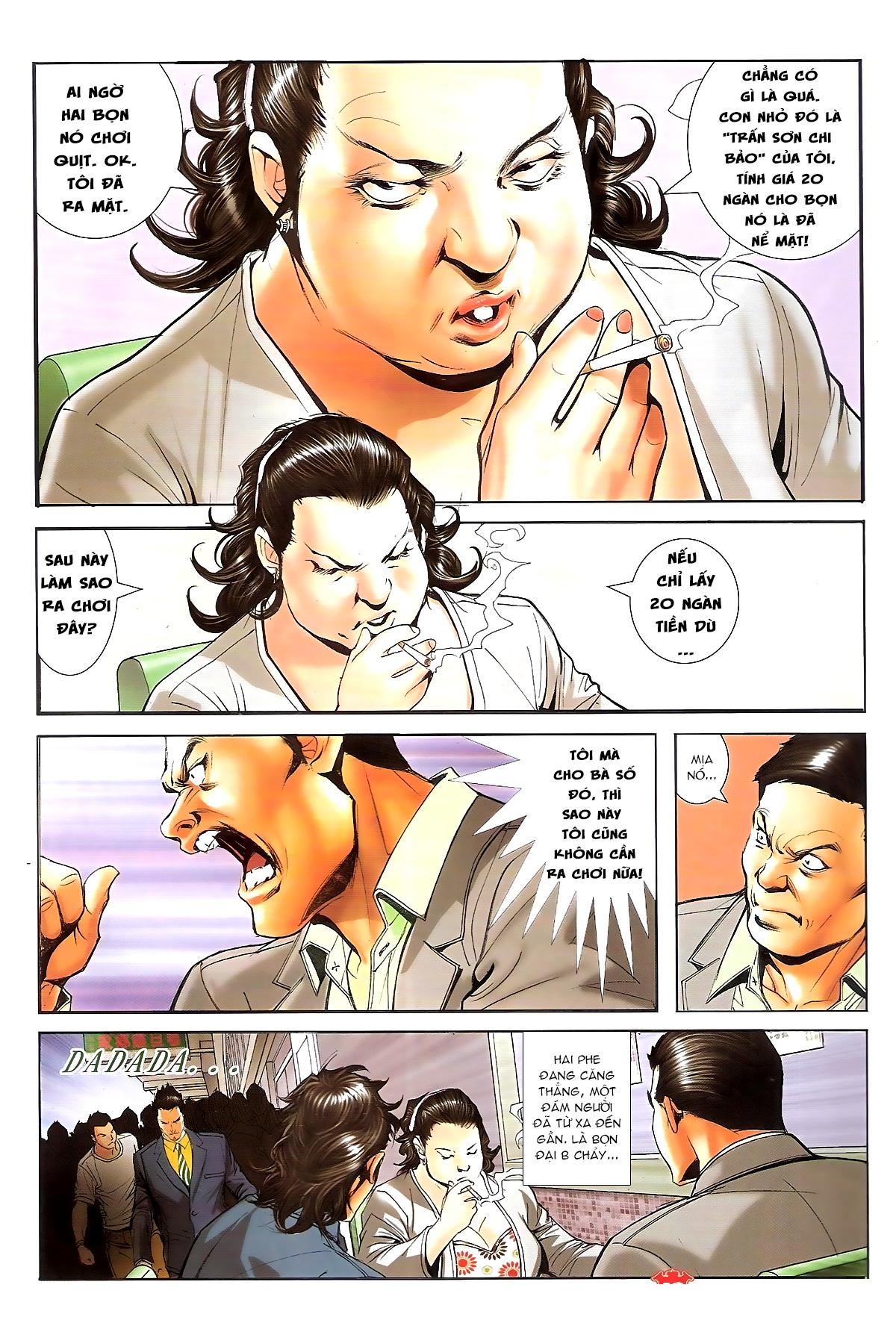 Người Trong Giang Hồ chapter 1648: tự tìm đường chết trang 10