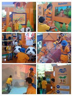 Area bermain BebeLand Bekasi