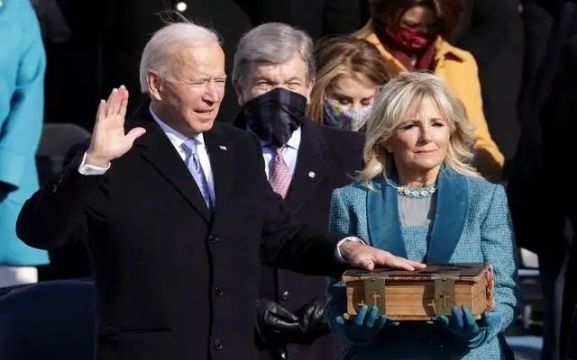 Watch Biden being sworn in as the 46th President of America