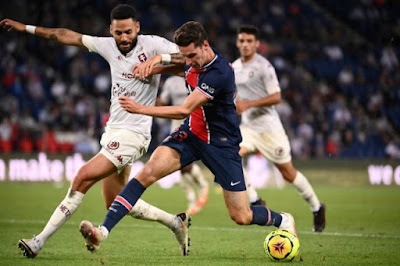 ملخص وهدف فوز باريس سان جيرمان القاتل علي ميتز (1-0) الدوري الفرنسي