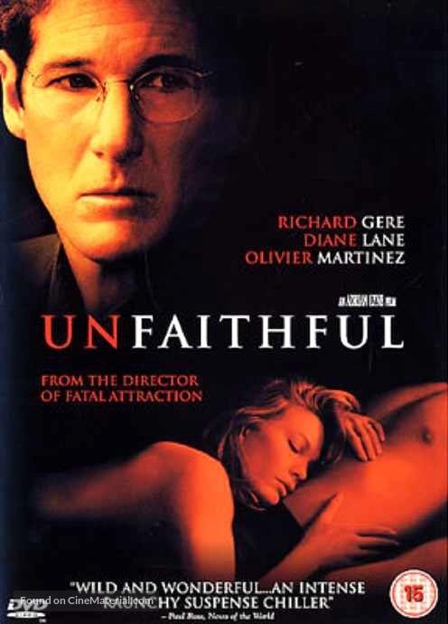 فیلم زیرنویس فارسی: بی وفا (2002) Unfaithful