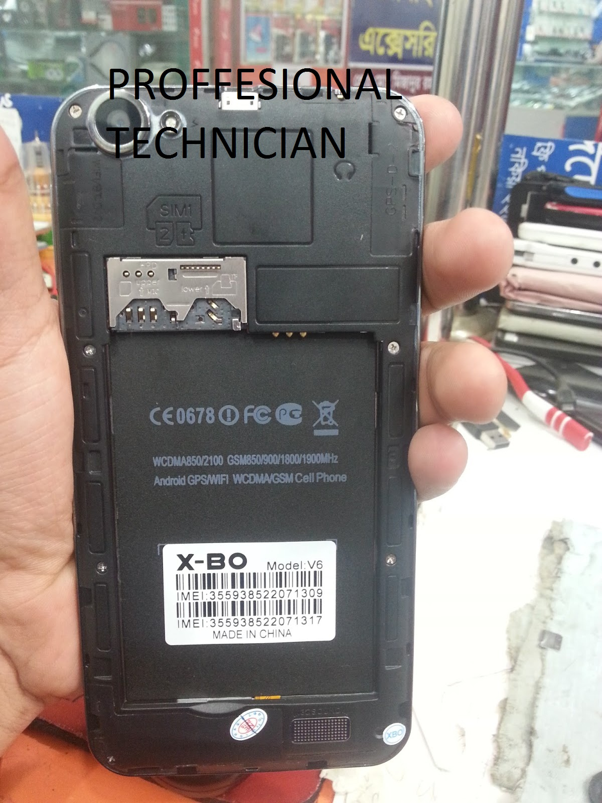 FREE X-BO V6 MT6572 SCATTER FIRMWARE FLASH FILE TESTED NO
