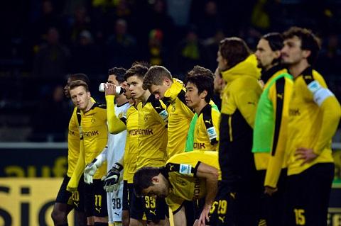 CLB Dortmund luôn nhận được sự ủng hộ của người hâm mộ