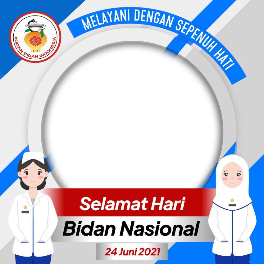 Link Download Bingkai Foto Twibbon Selamat Hari Bidan Nasional 2021
