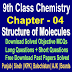 Structure of Molecules | Chemistry 9 Class Notes - Easy Notes