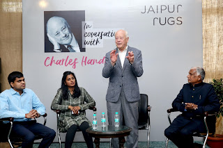 Charles Handy to Study Jaipur Rugs' Business Model which aligns with his business philosophy of sustainable business model