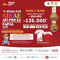 Virtual Run Kirab Api PON XX Papua • 2021