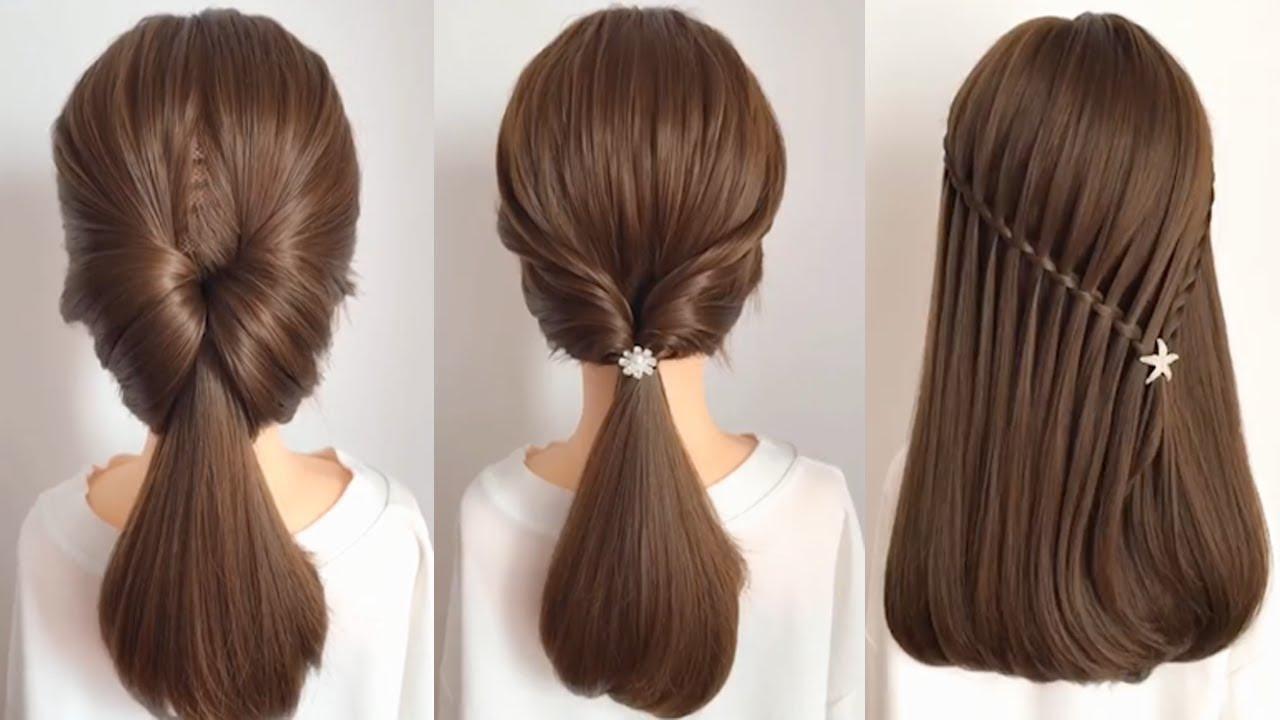 تسريحات شعر بسيطة للمناسبات