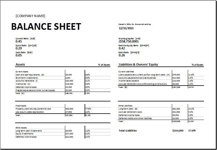 Sassy image for printable balance sheet