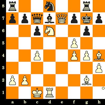 Les Blancs jouent et matent en 3 coups - Yuri Meshkov vs Waldyr Espirito Santo, Tromsoe, 2014