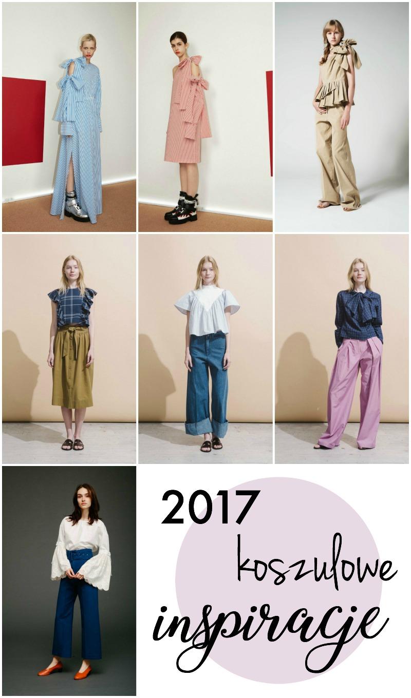Koszulowe inspiracje 2017