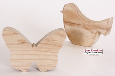 Select Wooden Pieces