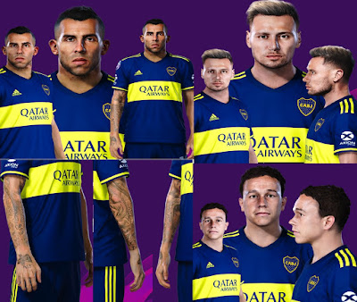 PES 2020 Facepack Boca Juniors V2 by Gordoumbanda