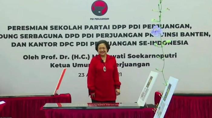 Resmikan 8 Kantor & Sekolah PDIP, Professor Megawati: Ini Rumah Rakyat!