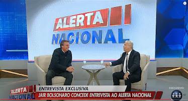 Sikêra Jr entrevista o presidente Bolsonaro