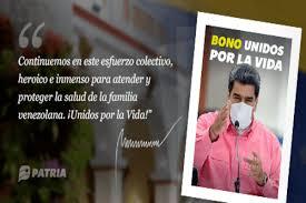 Inició la entrega del Bono Unidos por la Vida