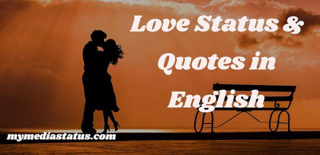 Love Status in English for Your Lover