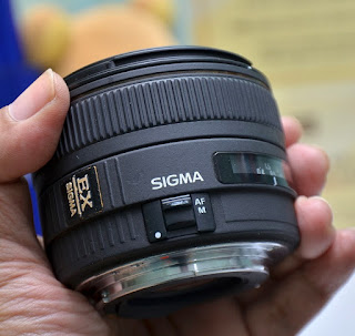 Lensa Sigma EX 30mm f1.4 DC HSM For Canon