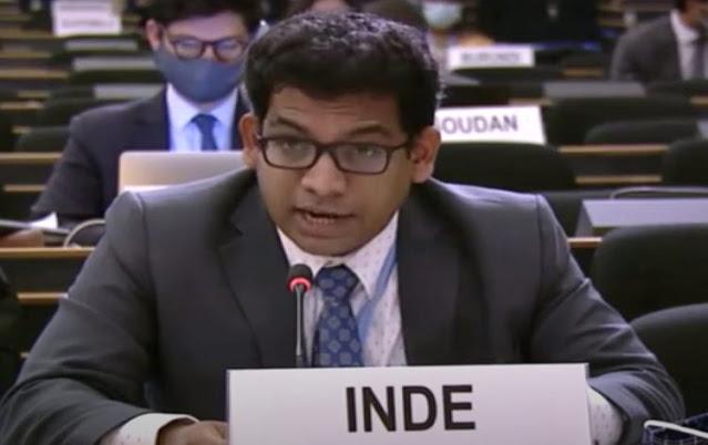 विश्व मंच पर देश के खिलाफ नकली आख्यान के लिए भारत ने पाकिस्तान को लताड़ लगाई