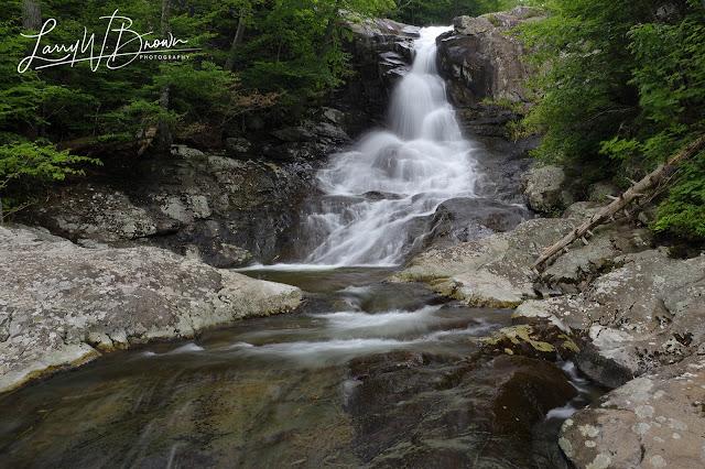 Base of Whiteoak Canyon Waterfall #1