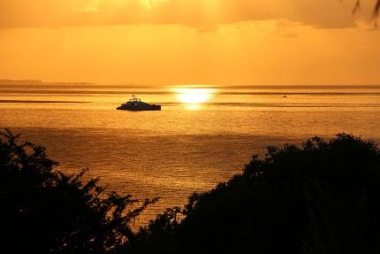 Mozambik partjainál