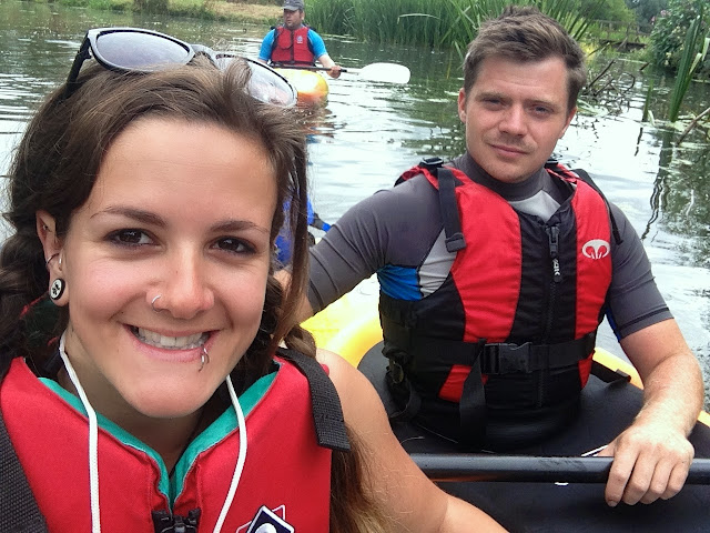 Kayaking down the River Ouse with Martlet Kayak Club Brighton