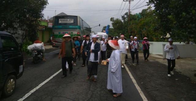 Massa GNPF Ciamis Tak Jadi Jalan Kaki ke Jakarta untuk Aksi Damai 2 Desember