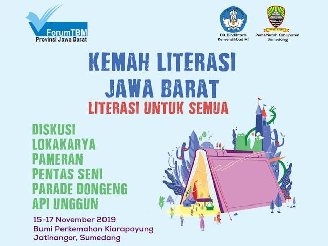 Kemah Literasi Jawa Barat 2019, Literasi untuk Semua