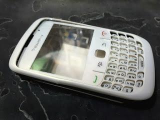 Casing Blackberry BB Gemini 8520 Original Fullset