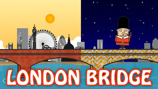 LONDON BRIDGE IS FALLING DOWN LYRICS