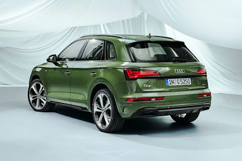 2021 Audi Q5 officially appeared online