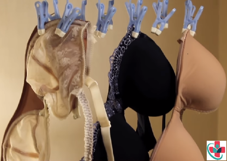 Wet bras aired to dry
