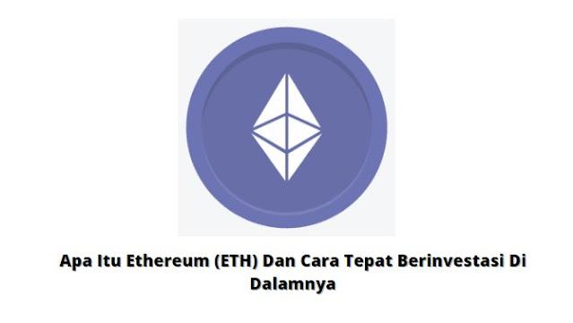 Gambar Ethereum (ETH) Cryptocurrency
